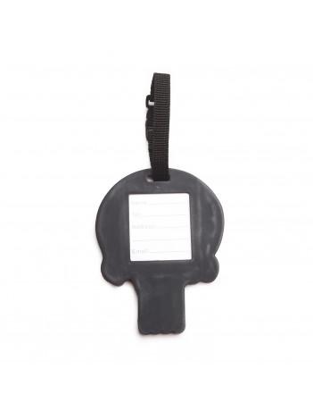 PVC Morale Luggage Tag - PATRIOTIC PUNISHER SKULL