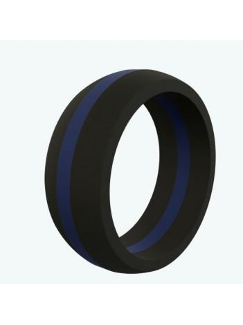 MEN'S BLUE LINE / RED LINE QALO RING