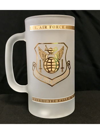 AFOSI FROSTED BEER MUG