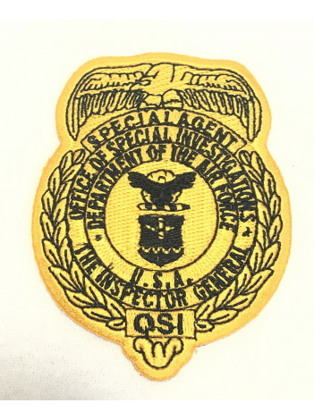 AFOSI GOLD BADGE PATCH