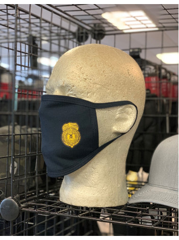 COTTON FACE MASK WITH OSI BADGE