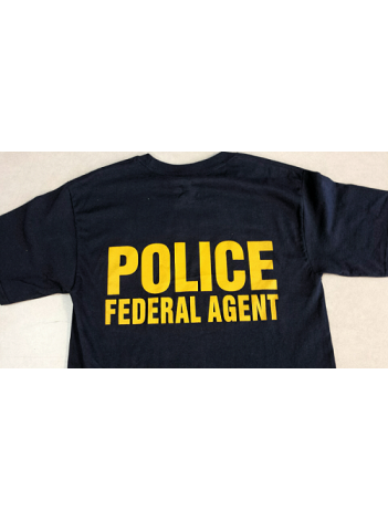 AGENCY RAID T-SHIRT , NEXT LEVEL SOFT COTTON