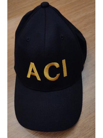 ACI FLEX FIT HAT- GOLD LETTERS