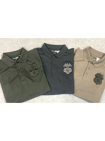 ATF BADGE ON TACTICAL POLO