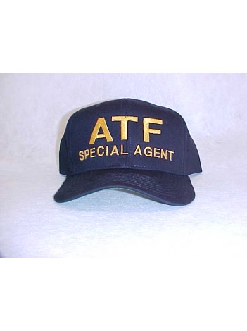 HAT, BASEBALL STYLE, ATF SPECIAL AGENT LETTERING