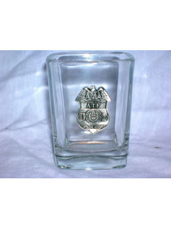 PEWTER SQUARE SHOT GLASS