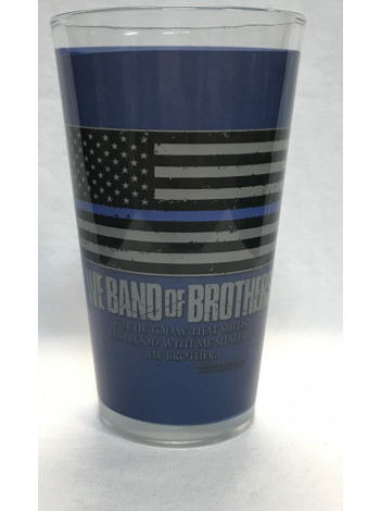 BAND OF BROTHERS PINT GLASS