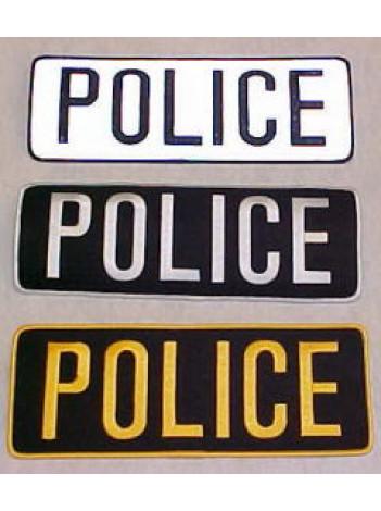 "POLICE PATCH 11"" X 4"""
