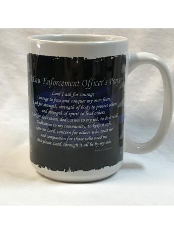 LAW ENFORCEMENT 15OZ COFFEE MUG