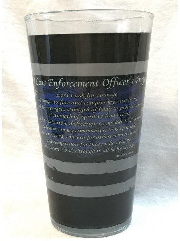 LAW ENFORCEMENT PINT GLASS