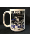 POLICE DOG 15OZ COFFEE MUG