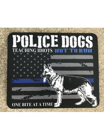 POLICE DOGS MOUSE PAD