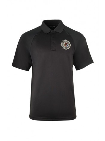 BOP Charcoal Class B Utility Polo - Short Sleeve, MANUFACTURED BY AD MEYERS