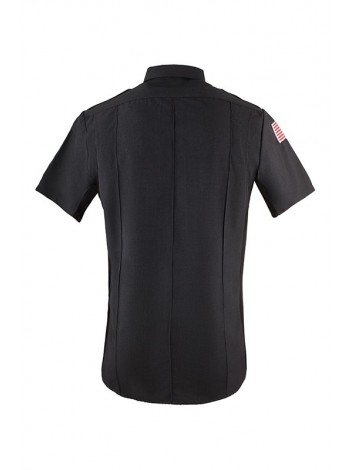 BOP Charcoal Short Sleeve Class B Utility Shirt ,  MANUFACTURED BY AD MEYERS