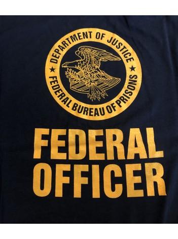 BOP SEAL T-SHIRT, FEDERAL OFFICER