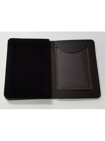 BOP CREDENTIAL CASE WITH LEOSA IMPRINT AND SMART CARD 98-A-MI
