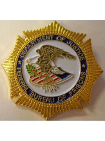 BOP badge tie pin