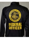 BOP Windbreaker, SILKSCREEN SEAL AND BOP SEAL & FEDERAL OFFICER ON BACK 820437