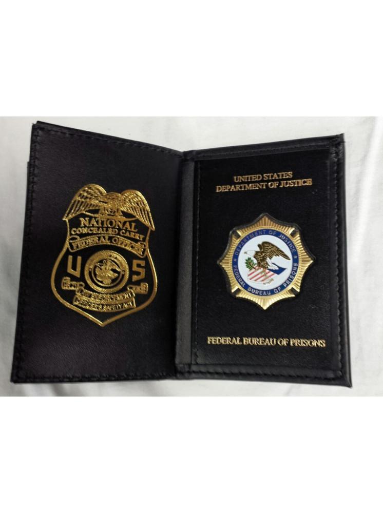 Bop Badge Wallet Imprinted With Leosa Badge 125 A Mi
