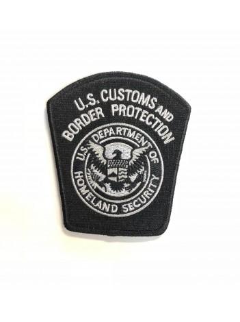 CBP SHOULDER PATCH- BLACK/GREY