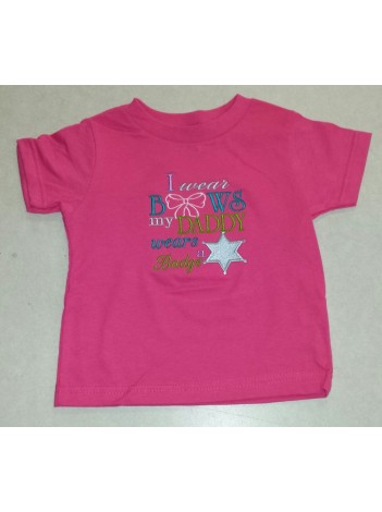 I WEAR BOWS TODDLER T-SHIRT