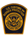 CBP SHOULDER PATCH, BORDER PATROL, 493633
