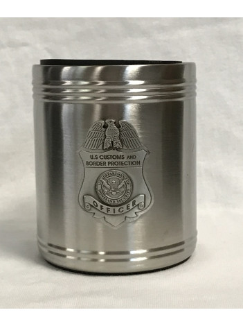CBP PEWTER CAN COOZIE 4476