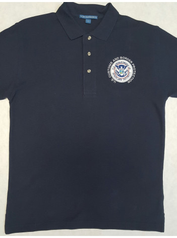 CBP DHS SEAL POLO SHIRT K420