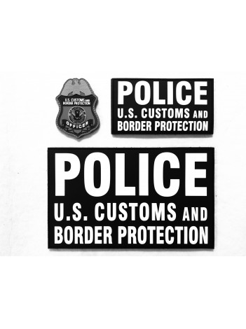 NEW! CBP PVC 3 PATCH PANEL SET
