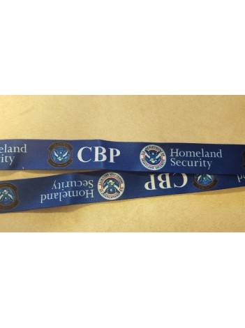 CBP LANYARD PRINTED WITH BUCKLE