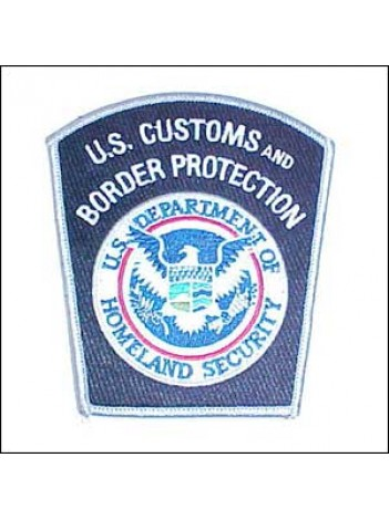 CBP SHOULDER PATCH, CUSTOMS 493635