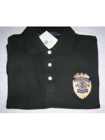 CIS, OFFICER BADGE ON PORT AUTHORITY SHIRT K500