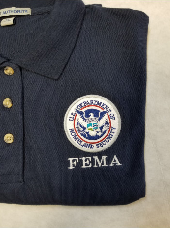 FEMA PORT AUTHORITY POLO SHIRT K500