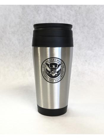 DHS stainless steel travel mug 981343