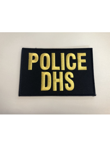 CLEARANCE 6X4 POLICE DHS PATCH PANEL