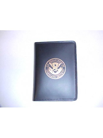 CREDENTIAL CASE WITH GOLD DHS IMPRINT 832DHS