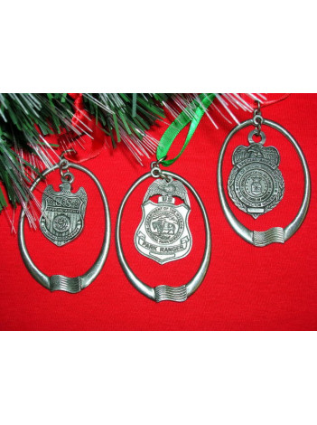 AGENCY PEWTER CHRISTMAS ORNAMENT