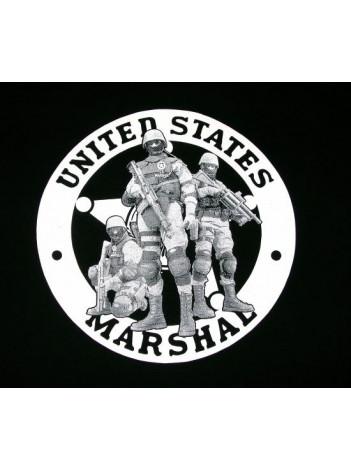 T-SHIRT, USMS TACTICAL STAR LOGO  ON BACK, 126438