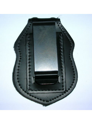 VA POLICE DOUBLE THICK BELT BADGE CLIP