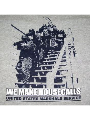 T-SHIRT, USMS, WE MAKE HOUSECALLS 126399