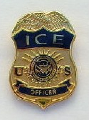 ICE TIE PIN, OFFICER
