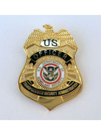 TSA OFFICER BADGE REPLICA 7946