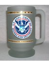 DHS, FROSTED BEER MUG 8159