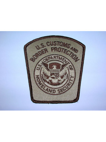 CBP SHOULDER PATCH DESERT TAN 8288
