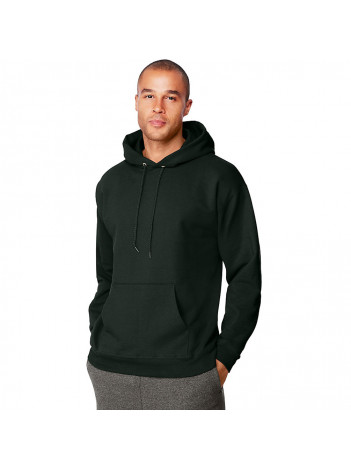 SWEATSHIRT WITH EMBROIDERED BADGE, HOODED