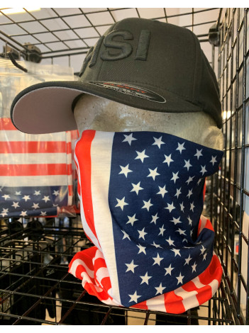 GAITER WITH FLAG