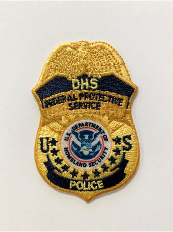 FPS POLICE SMALL BADGE PATCH