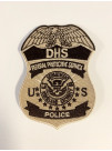 FPS POLICE TAN/BROWN BADGE PATCH