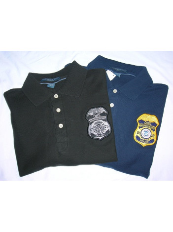 DHS FPS POLO SHIRT WITH BADGE K420