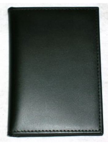 AGENCY TRI-FOLD BADGE CASE by Strong Leather, PLAIN, 878